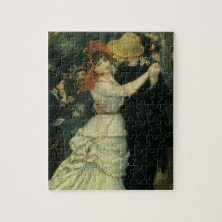 Danza en Bougival por Renoir, impresionismo del Puzzles Con Fotos