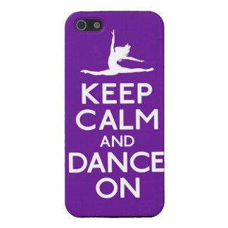 Danza en el caso de Iphone 5 iPhone 5 Carcasas