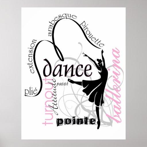 Danza en el poster de Pointe