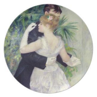 Danza en la ciudad, 1883 plato de comida