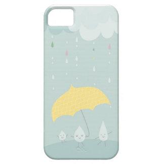 danza en la cubierta del iphone de la lluvia iPhone 5 fundas