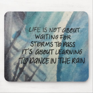 Danza en la lluvia Mousepad Tapete De Raton
