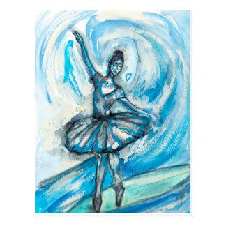 Danza en la resaca postal