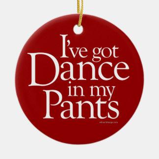 Danza en mis pantalones ornato