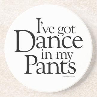Danza en mis pantalones posavasos de arenisca