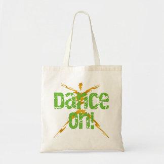 Danza encendido bolsas lienzo