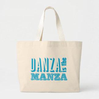 Danza es el Manza Bolsa Tela Grande