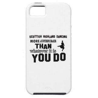 danza escocesa de la montaña más impresionante que iPhone 5 Case-Mate carcasas