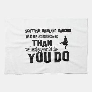 danza escocesa de la montaña más impresionante que toallas