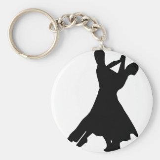 Danza estándar llavero redondo tipo pin
