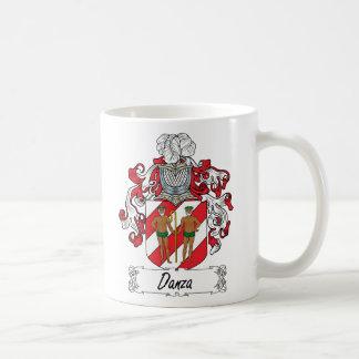 Danza Family Crest Mugs