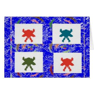 Danza feliz 2.jpg del ganador tarjeta de felicitación