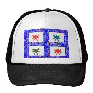 Danza feliz - disfrute y comparta de la alegría gorras de camionero