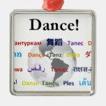 Danza global - la lengua global (personalizable) ornato