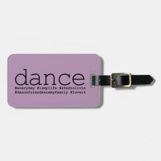Danza Hashtags Etiquetas Bolsa