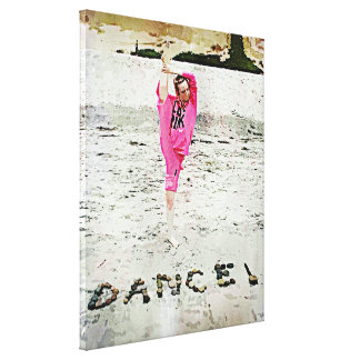 Danza Impresión En Lienzo