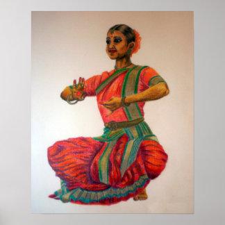 Danza india I Póster