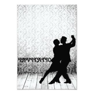 """Danza latina del flamenco del tango de la invitación 3.5"""" x 5"""""""