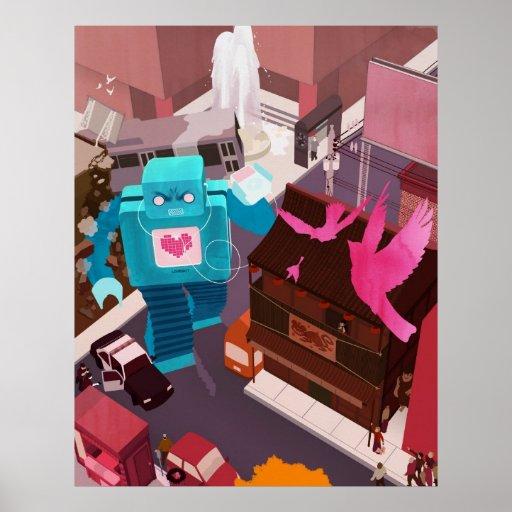 ¡Danza, Lovebot! ¡Danza! Posters