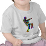 Danza múltiple del ZOMBI ARTT101 Camisetas