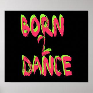 Danza nacida 2 posters