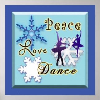 Danza No-Confesional del amor de la paz Póster