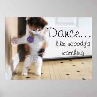 ¡Danza! Poster