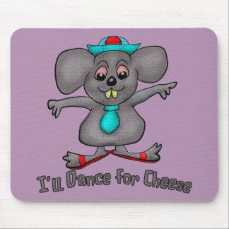 Danza para el queso alfombrilla de ratones