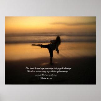 Danza para la alegría póster