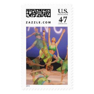 Danza para su alma sello postal