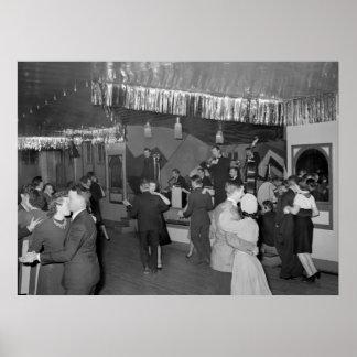 Danza pasillo: 1940 póster