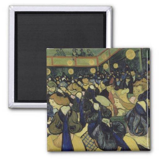 Danza pasillo en Arles de Vincent van Gogh Iman Para Frigorífico