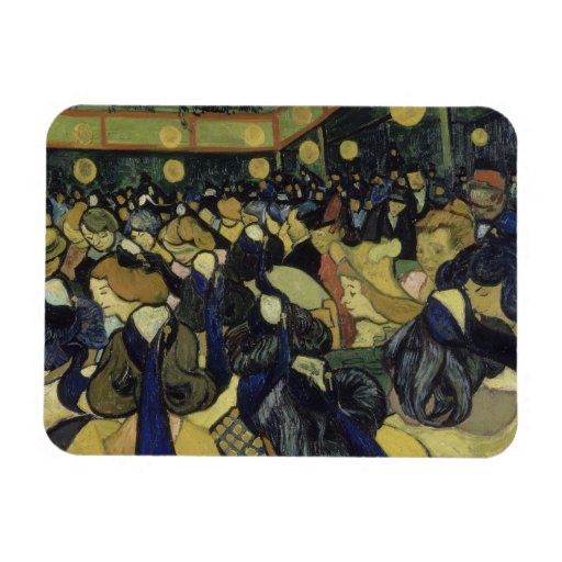 Danza pasillo en Arles de Vincent van Gogh Iman Flexible