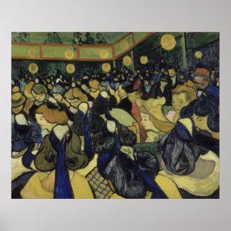 Danza pasillo en Arles de Vincent van Gogh Impresiones