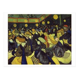 Danza pasillo en bella arte de Arles Van Gogh Tarjetas Postales