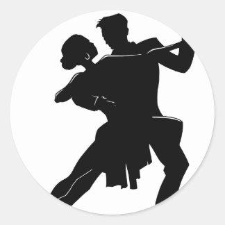 Danza Pegatinas Redondas