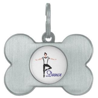 Danza Placas De Nombre De Mascota