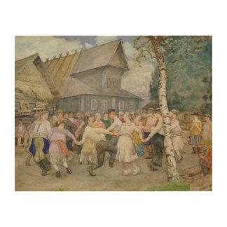 Danza popular, 1917-22 impresiones en madera