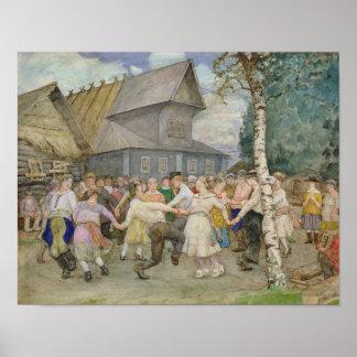 Danza popular, 1917-22 póster