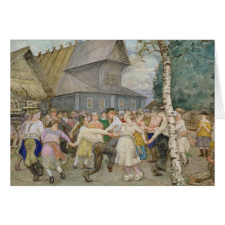 Danza popular, 1917-22 tarjeton