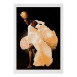 Danza popular africana impresiones