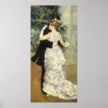 Danza por Renoir, arte de la ciudad del Poster