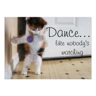 ¡Danza! Póster