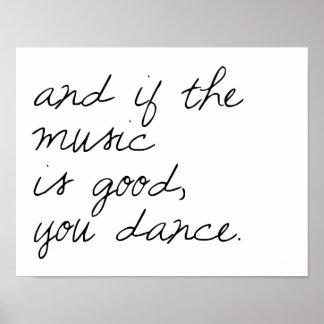 Danza Póster