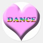 ¡Danza! Regalos Etiquetas Redondas