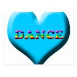 ¡Danza! Regalos Tarjeta Postal