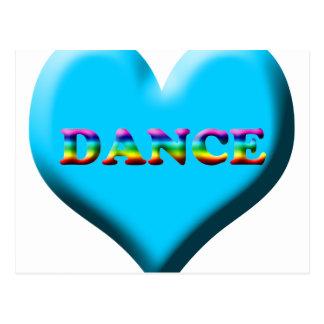 ¡Danza! Regalos Postal