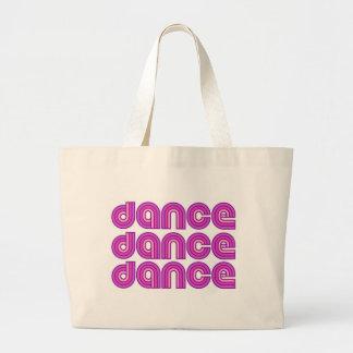 Danza retra - tote bolsas de mano