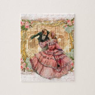 Danza romántica de Versalles Rompecabeza