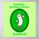 ¡Danza, salmuera del cumpleaños, danza! Posters
